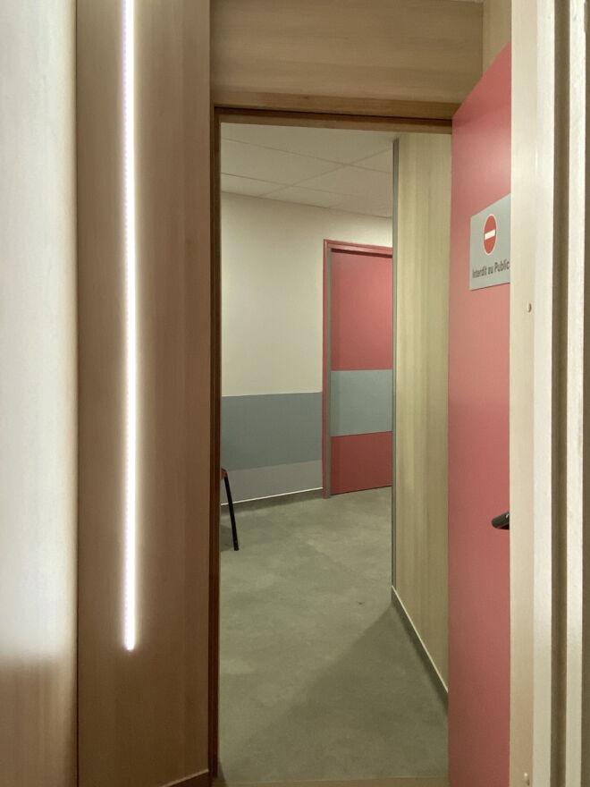 clinique - couloir